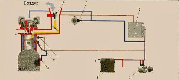 Схема «Центральный (моно)